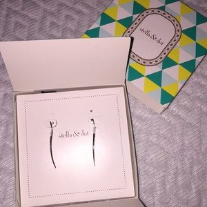 8942ea4fe1f46 Stella & Dot Silver Rae Earrings NIB NWT